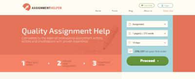 assignmenthelper review