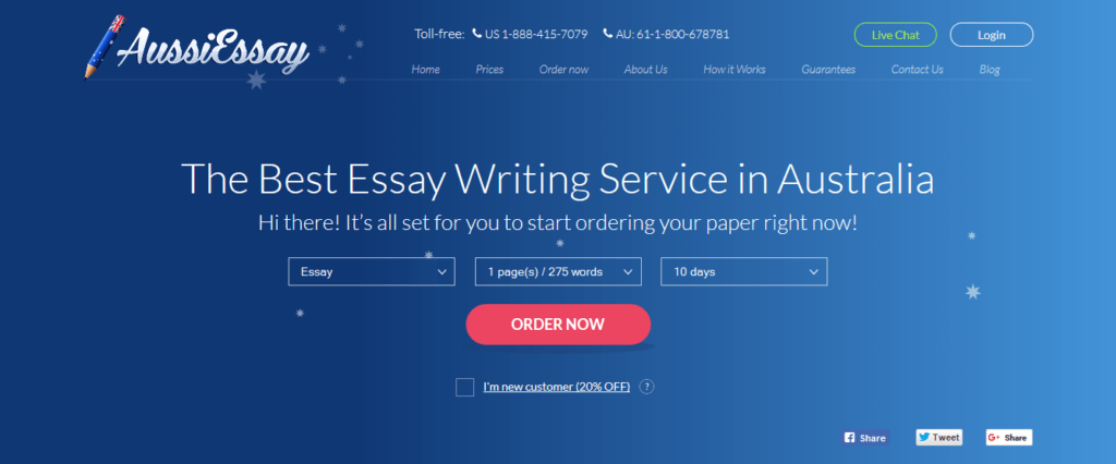 aussiessay review