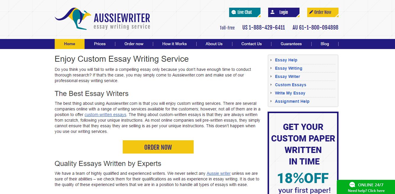AussieWriter.com Review