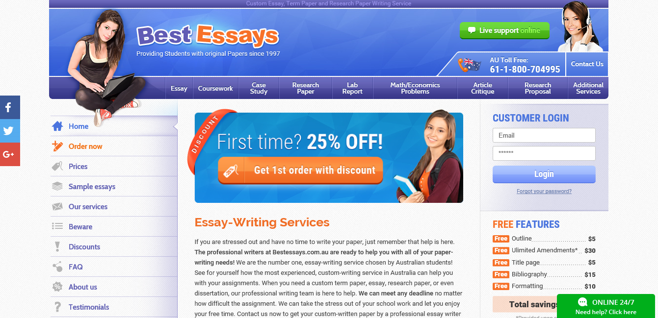 bestessays review